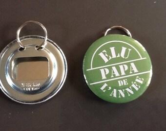 """Door keys/bottle opener """"elected Dad of the year"""""""