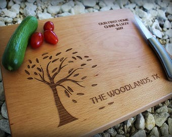 Personalized Cutting Board - Engraved Cutting Board, Personalized Wedding Gift, Wedding Gift, Housewarming Gift, Anniversary Gift, Chef Gift