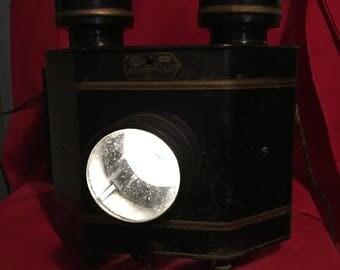 RadioOptican Postcard projector