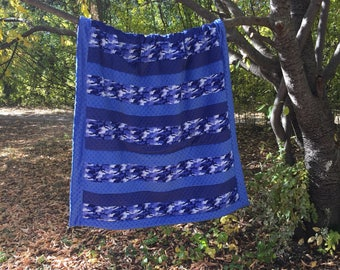 Minky /flannel blanket
