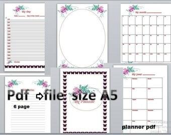 Planner Notebook Etsy