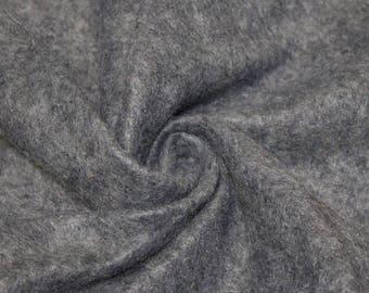 Charlotte DARK HEATHER GREY  Acrylic Felt Fabric by the Yard - Style 3003