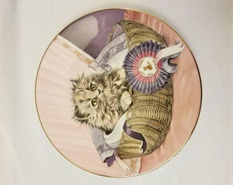 The Hamilton Collection First Prize Kitten Classics Collector Plate