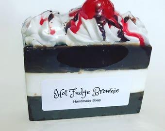 Hot Fudge Brownie (Handmade Cold Process Soap)