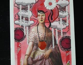 "Postcard ""the gourmet"""