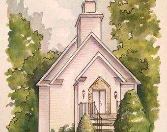 Wedding Venue Painting