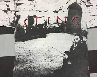 Vintage 0verprint Sting Tour 93 T Shirt