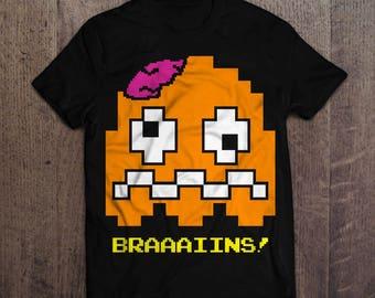"Zombie Pac-Ghost T-Shirt - ""Pokey"""