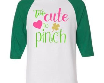 St. Patrick's Day Tee for Girls