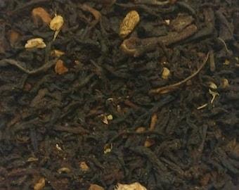 Chocolate Chai with Espresso Black Tea, loose leaf, tea bags, tea sachets, all natural