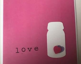 "Greeting Card ""LOVE"""