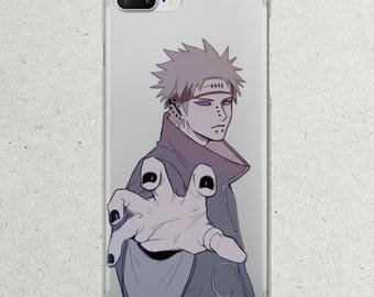 Naruto Nagato Pain Cosplay Headband Shippuden Anime shirt iPhone 8 7 6 6s Plus X 5 5s 5se se 5c 4 4s case for Apple i Phone Case Cell Cover