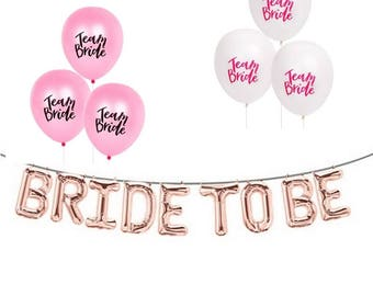 Bride to Be Rose gold