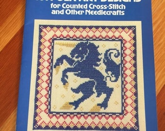 Cross Stitch Chart: 101 Folk Art Designs for Counted Cross Stitch and other Needlecraft