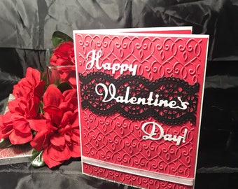 Valentine's Day Lace Card