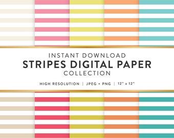 Digital Paper - Stripes Design