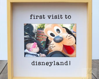 Disneyland Family Disney Family Disneyland Gift Disneyworld Family Disney Family Disneyworld Gift Disney Gift Family at Dinseyland Frame