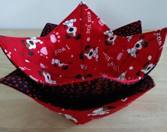 Valentines Microwave-safe Bowl Cozy