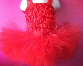3 Layer Red Tutu