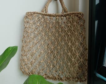 SUANA - Natural Abaca Tote Bag