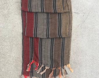 Vintage Striped Scarf