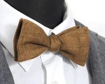 "Linen bowtie ""Marcel"" / ""Marcel"" 100% linen Bow Tie"