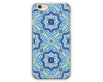 Ornaments Moroccan Blue iPhone Case