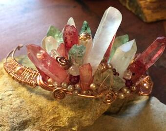 Beautiful Crystal Crown Tiara