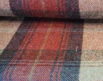 Norham Wool Plaid Fabric - per metre