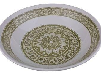 """Ridgway Serving Bowl in  """"Mosaic"""" Pattern"""