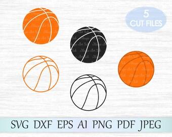 Basketball svg, Basketball svg file, Basketball clipart, Svg Basketball, Basketball cut file, Ball svg, Cricut Cut File, Cutting Machine