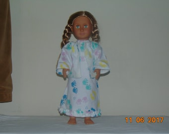"18"" Doll 2 piece Sleep Outfit"