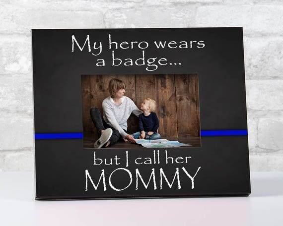 Law Enforcement Picture Frame Police Officer Gifts My
