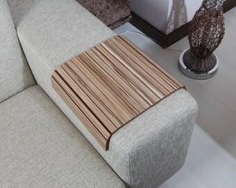 Sofa Arm Tray, Sofa Tray Table, Coffee Table, Sofa Table, Wood Tray