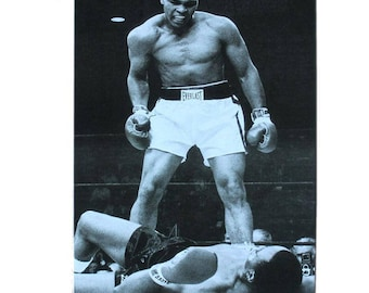 Vintage Mohammad Ali Boxing Poster