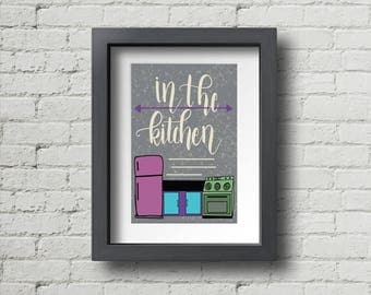 In the Kitchen | Digital Print