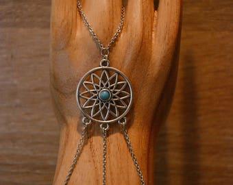 Dream catcher hand jewelry