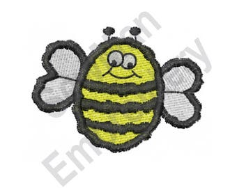Cartoon Bee - Machine Embroidery Design