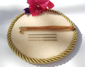 Tambour Hook Needle Set of 3/Tambour Needle/luneville Needle/Crochet Luneville/Люневильский Крючок/Haberdashery