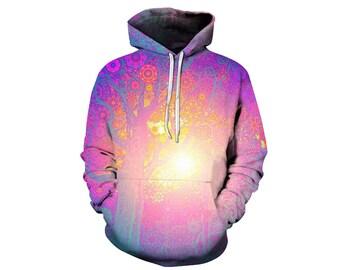 Tree Hoodie, Outdoor Hoodie, Tree Sweatshirt, Nature Hoodie, Art, Hoodie Art, Hoodie Pattern, Pattern Hoodie, Hoodie, 3d Hoodie - Style 9