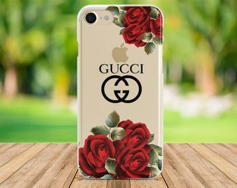 Gucci case iPhone X case iphone 7 case iphone 8 plus case Samsung S7 Phone case Samsung S6 case iphone 5 case Silicone case Samsung S8 case