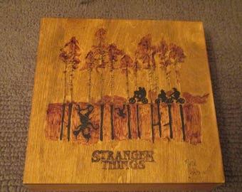 Stranger Things Season 1 Art - The Upside Down fan art