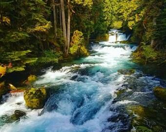 Rushing Waterfalls