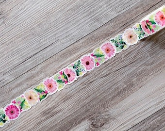 spring washi tape,Floral Washi Tape,Striped Washi ,Masking tape