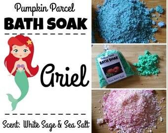 Ariel Bath Salts, Ocean Bath Salts, Bath Bomb, Bath Soak, Beach Bath Salts, Sea Bath Salts, Christmas Bath Salts, Relaxing Bath Salt