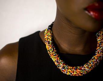 The Jarawa Necklace, Multi-colored
