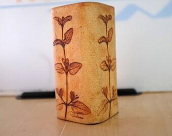 Vase pottery 1980