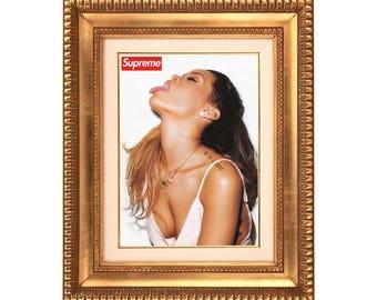 Supreme x Rihanna 'Smoke Session' Poster or Art Print