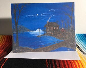 Card - Blue Lake