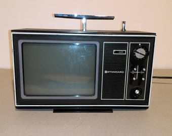 Vintage Portable Television/TV Set From Japan/60s